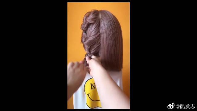 明星同款发型,喜欢吗?
