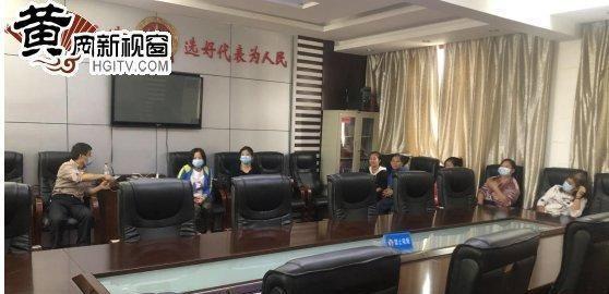 """黄州宝塔社区团结安国禅寺开展""""金秋国庆""""慰"""