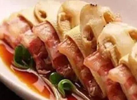 美食精选:松茸南风肉、叉烧里脊、菜心炒山药、香烤肉松
