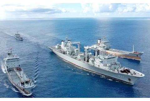 连续五昼夜,南海补给练兵忙|舰艇|补给舰|小艇|舰船