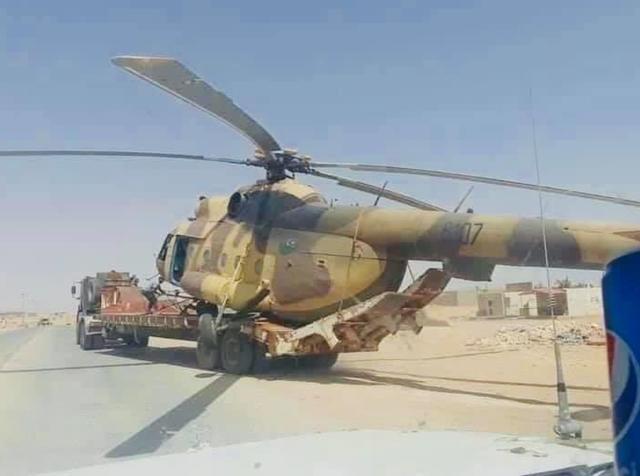 利比亚国民军越境暗杀失败,土耳其联军俘虏直升机,武器禁运无效