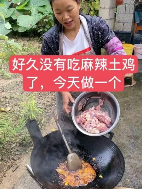 哈尼然阿四:做一个麻辣土鸡
