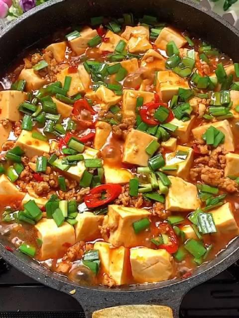 豆腐这样煮,一般人我不告诉他,因为太费米饭了