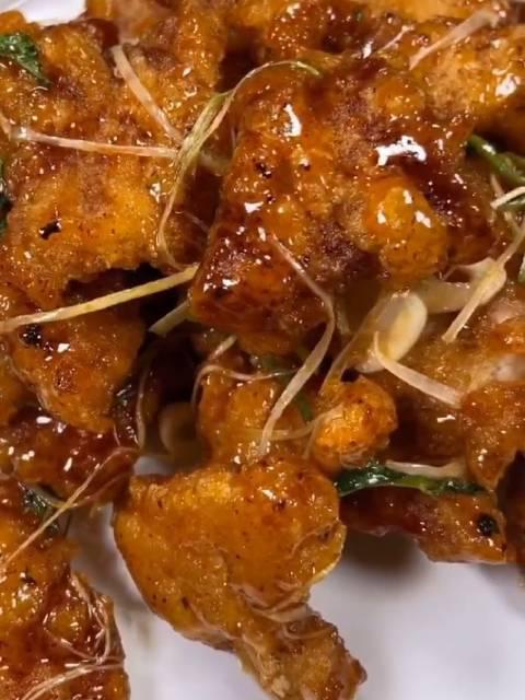锅包肉的详细教程,喜欢锅包肉的请收好自制美食美食课堂