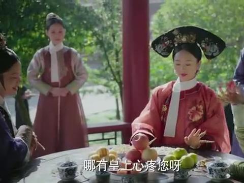 如懿传:金玉妍调侃海兰,说皇上怎么会看上她,真是笨笨的女人