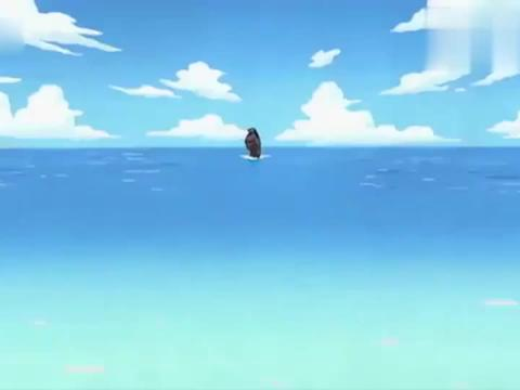 海贼王:回顾名场面!香克斯为了救路飞,他的一只胳膊被咬掉了