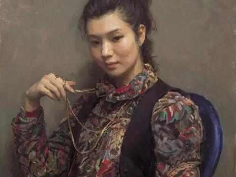 贺羽、朱春林的传统写实油画,素描作品欣赏