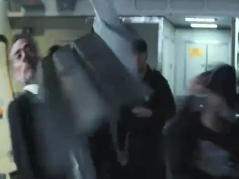 大猩猩突然发狂,导致飞机爆炸!