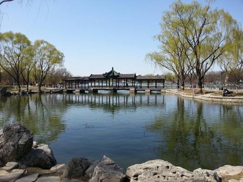 探访龙潭公园,前身是太原动物园,平湖倒影,适合周末亲子游