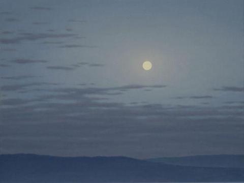 每逢佳节倍思亲,送给大家一组和月亮有关的艺术插画