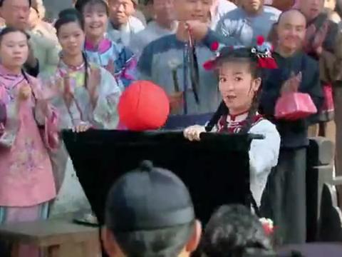 新还珠格格:小燕子表演才艺,和洋人发生了争执