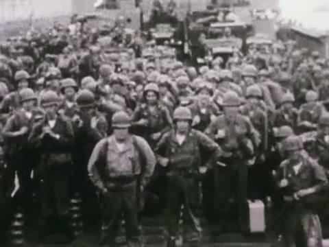 战争从未停止过它的脚步,美军已经越过三八线,向平壤前进