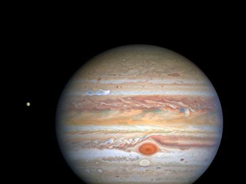 木星气旋的哈勃近照出炉,你知道大红斑还有个亲戚吗?
