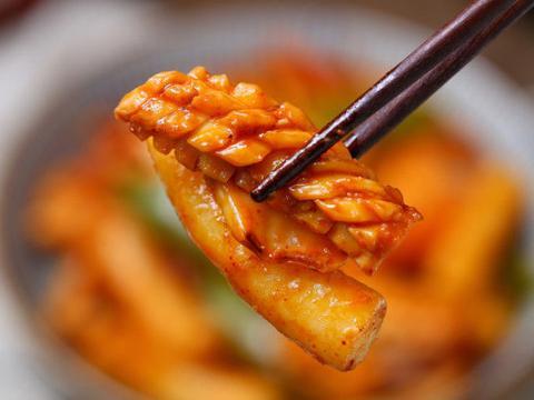 火爆夜市的韩式小吃,Q弹美味、香辣过瘾,空口就能吃光一大盘!