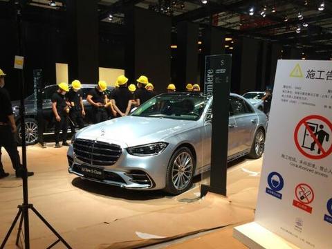 新一代奔驰S级实车曝光,配直列六缸发动机+48V轻混技术
