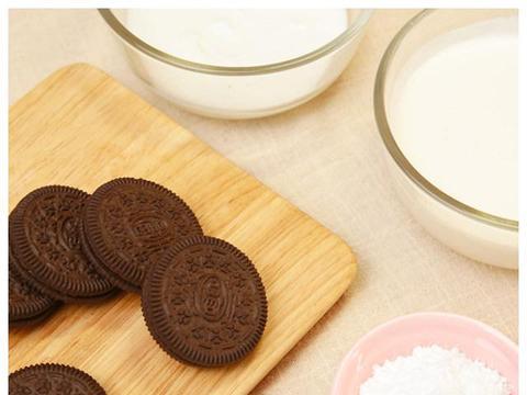奥利奥酸奶冰淇淋,香味浓郁无添加!