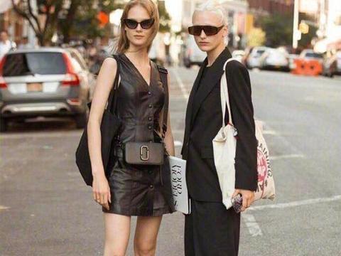 欧美穿搭随性大气,时尚街拍养眼极了!简约又耐看