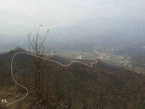 回龙顾主,河南下山猛龙地,王君植风水大师郑州看风水实拍
