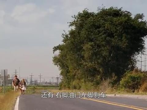 笨蛋:这拦车的方式有点牛啊,车立马就停下了,还差点来个漂移