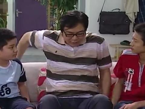 家有儿女:夏东海看到三人不比赛,刘星还找借口,真是无语