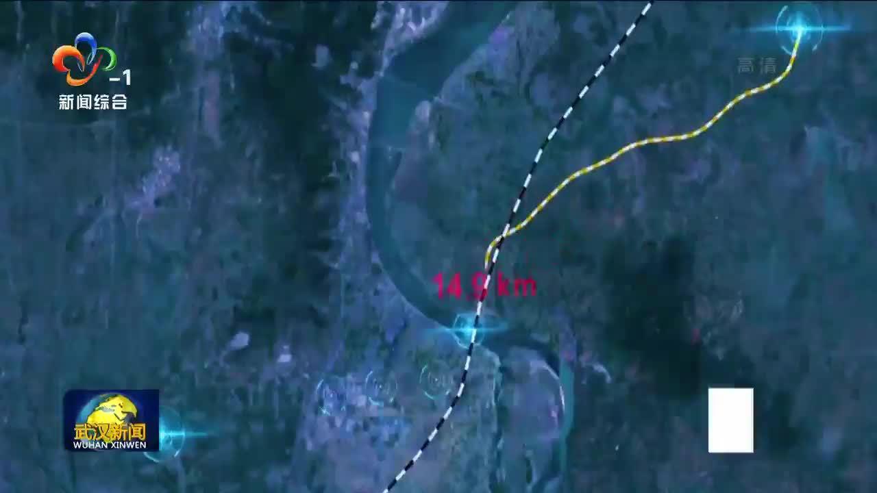 在汉央企承建襄阳汉江特大桥主桥合龙