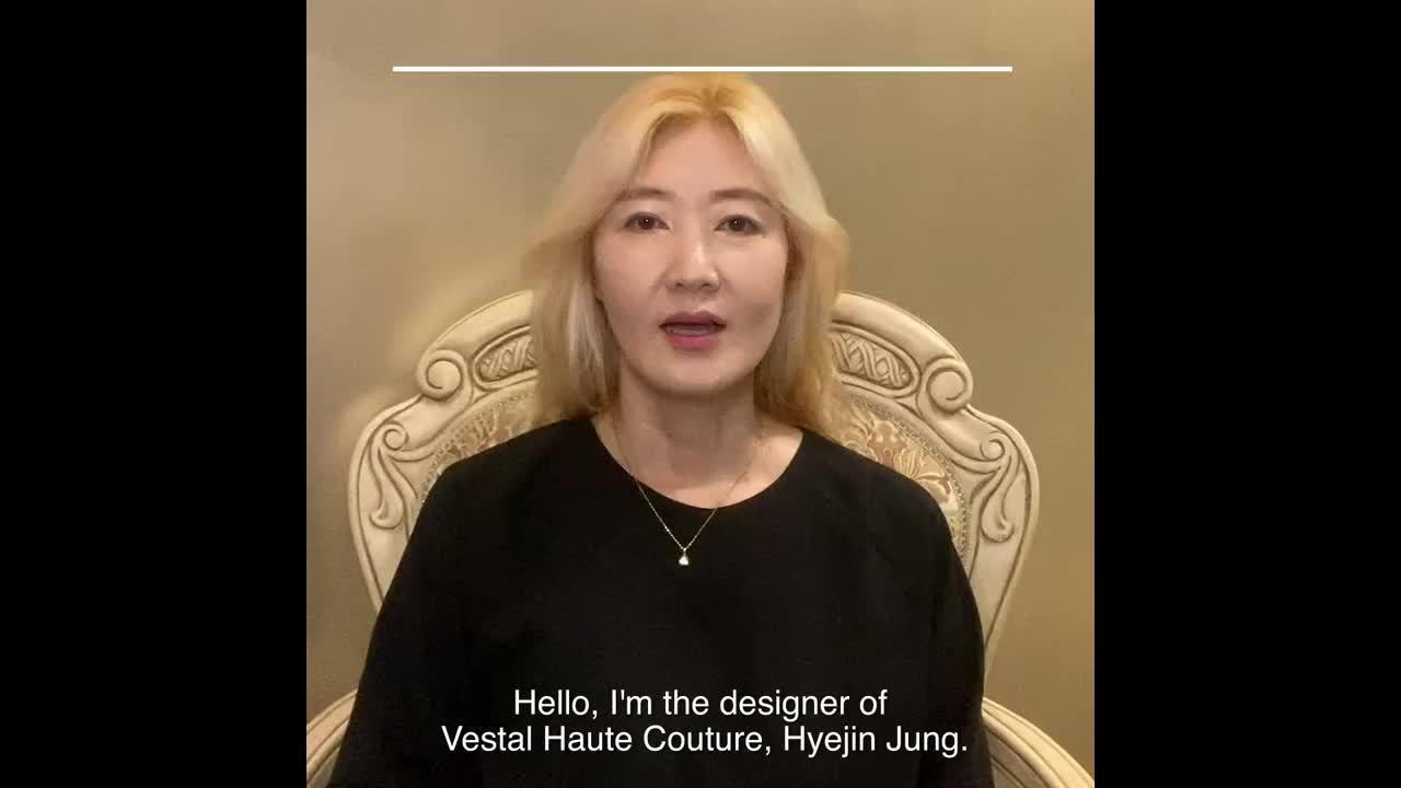 2020 VBBFW 来自Vestal的设计师 Hyejin Jung……