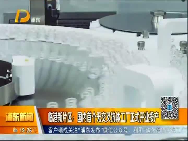 临港新片区:国内首个无交叉抗体工厂正式开业投产