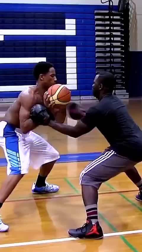 曾经最像科比的男人,德罗赞篮球训练视频,越努力越幸运!