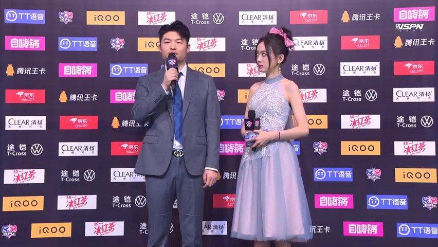 王者荣耀estar3:0RW侠赛后采访……
