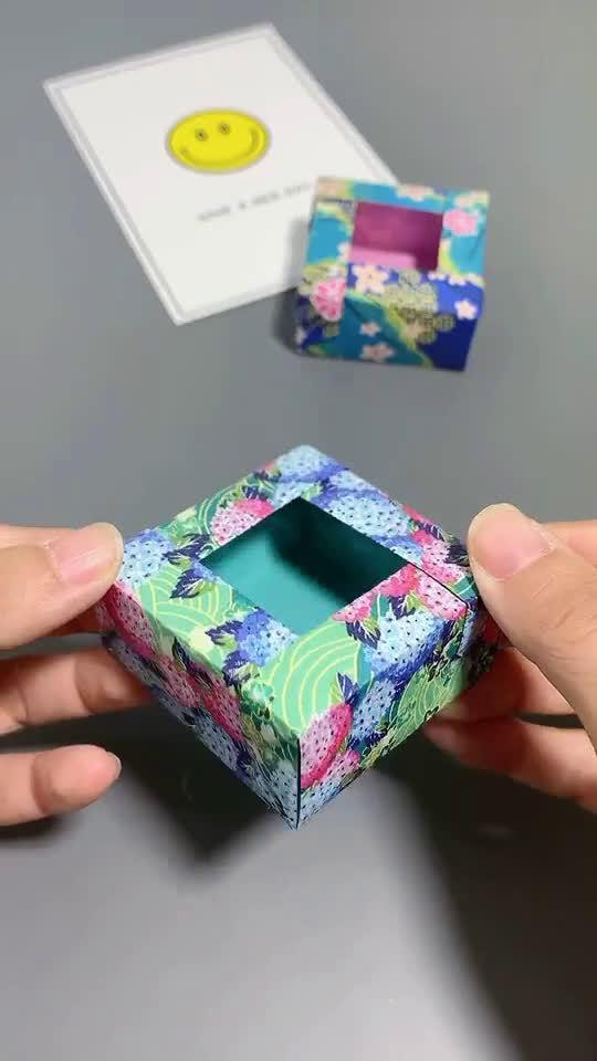 杂物小盒子折纸,好看