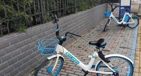 曲靖市麒麟区的共享单车想要返回到cage,网友们在炒锅