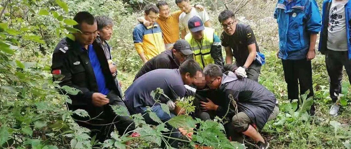 女子山上失联,400人次救援,4天后树杈上被发现,她经历了…