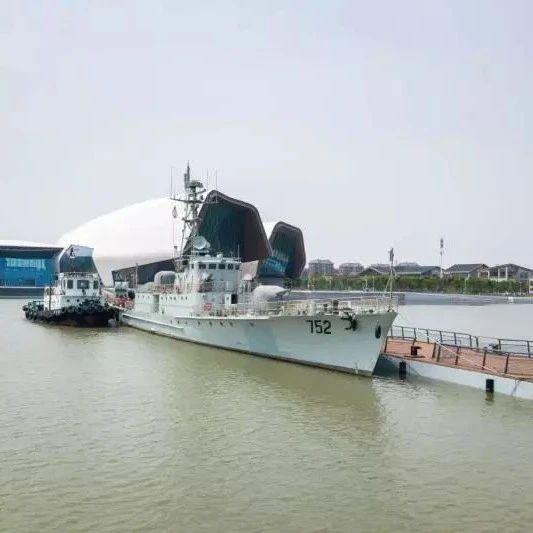 """停在天津的这艘导弹护卫艇,""""十一""""免费开放!"""