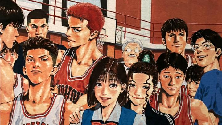 灌篮高手硬核分析,井上在最后一卷漫画封面中隐藏了湘北的未来!