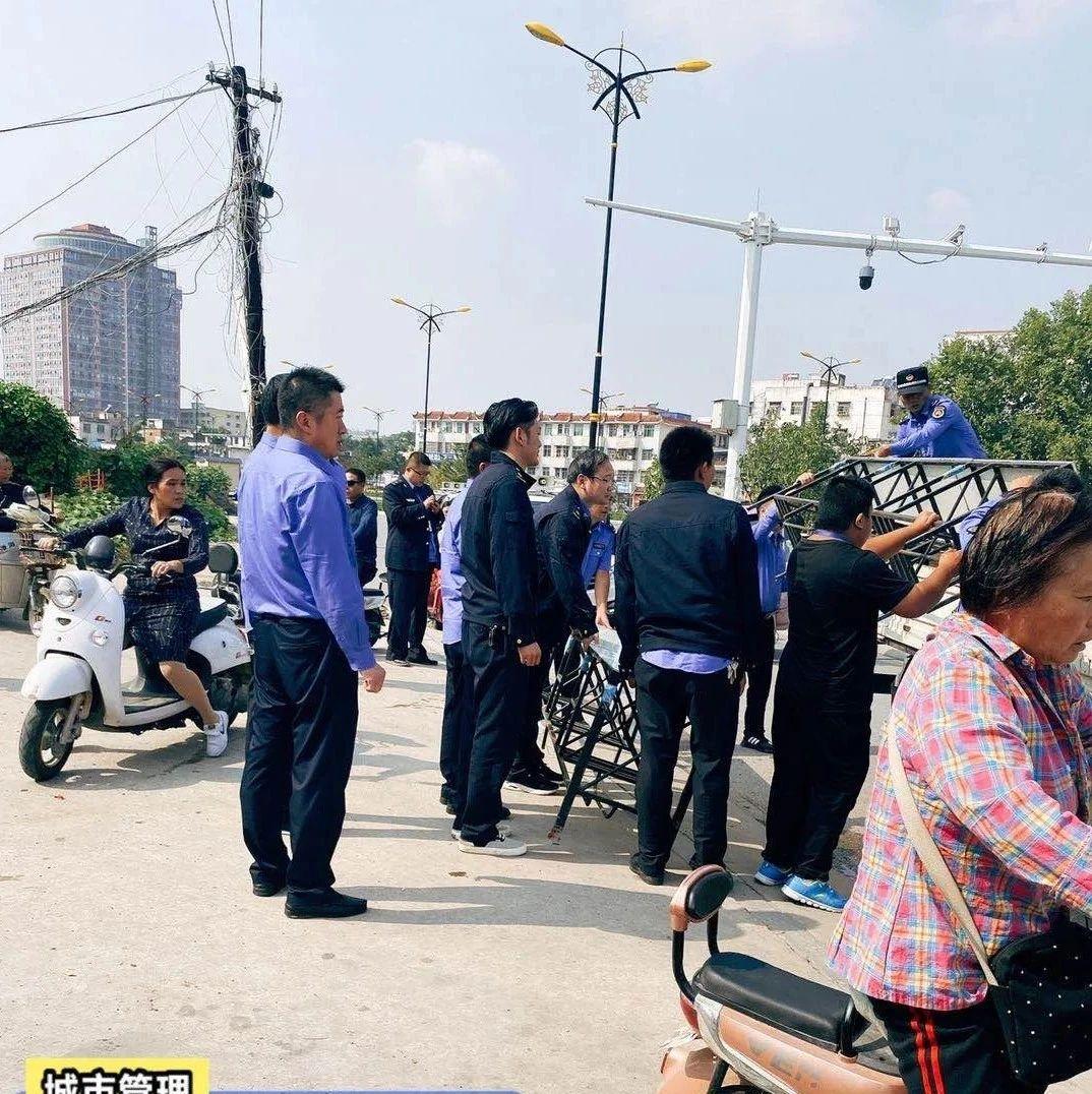 邓州城管集中整治,文化路、团结路、仲景路这些地方都将…