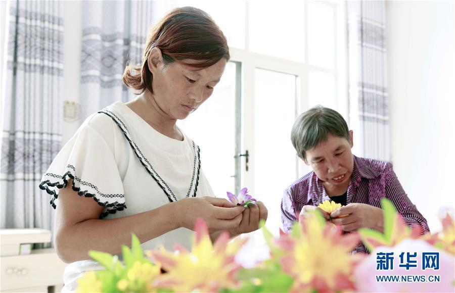 河北邢台:以技扶残 力助残疾群众就业