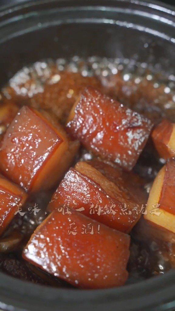 经典家常菜:酒香东坡肉教程,实在是太香了