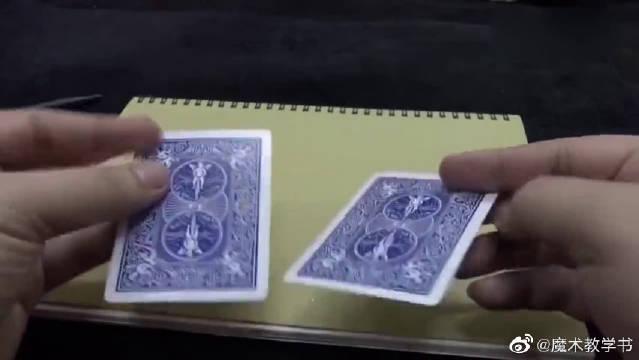 眼前的扑克牌魔术太神奇了,一起来看下是怎么做到的!