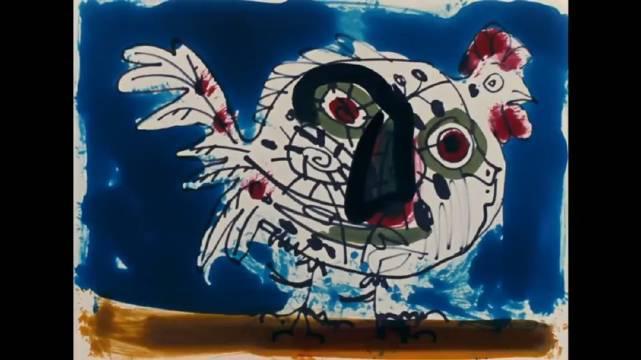 高清珍贵纪短片,看毕加索如何作画 ·