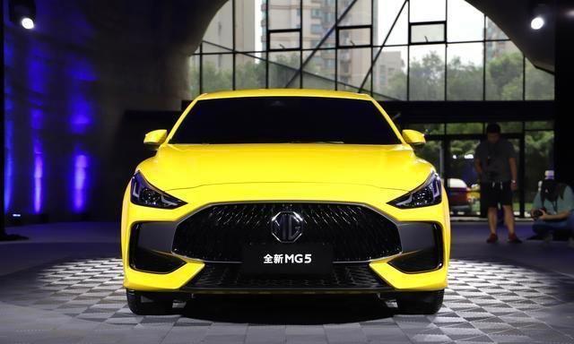 "MG的""平价跑车梦"",全新MG5设计解析|新车"