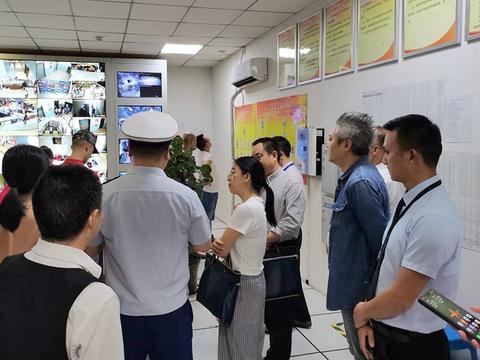 四川省安委会第十一巡查组赴南充市高坪区延伸巡查安全生产工作