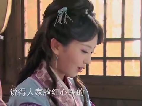王婆留潘金莲在家里做衣服,看到西门庆一到,故意找借口出门!