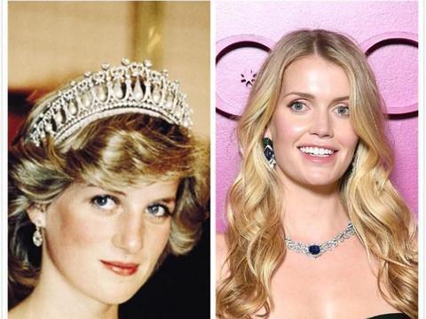 戴安娜29岁侄女成时尚宠儿,美丽且优雅,竟与61岁富翁恋爱