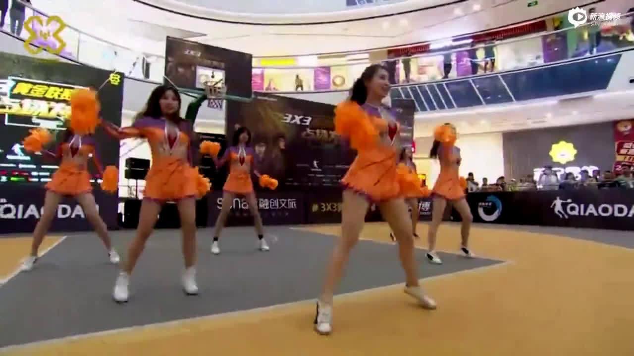 炫舞团橙色百褶裙助力黄金联赛