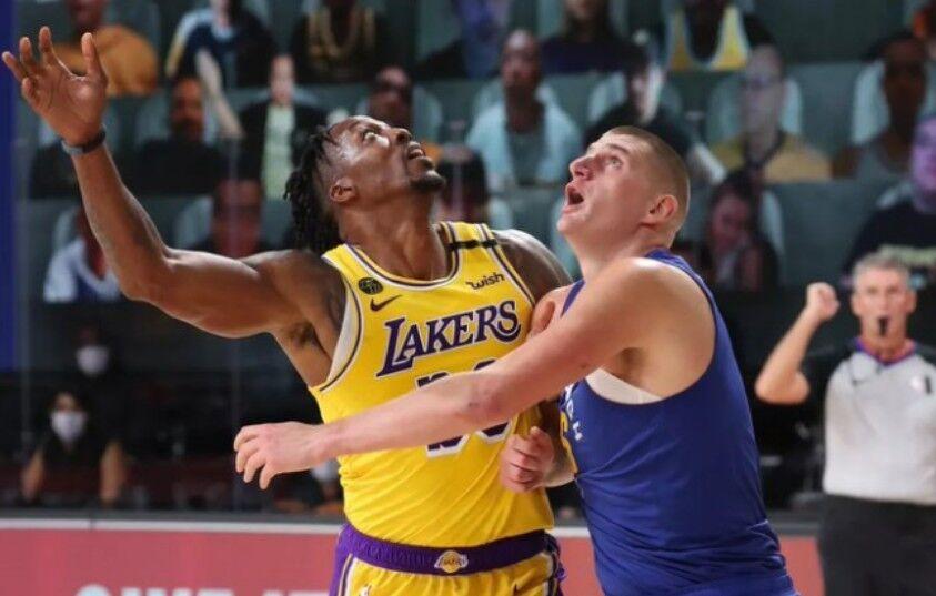 命中率72%+篮板第2封盖第1!一纪录将超詹姆斯,湖人总冠军稳了?