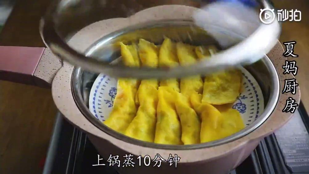 鸡蛋最过瘾的吃法,筷子搅一搅,勺子一压……