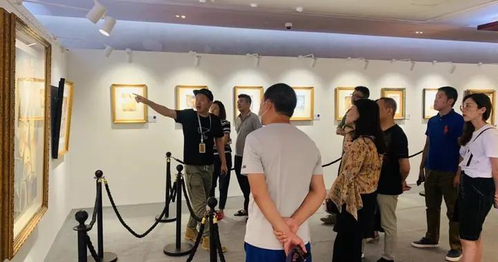 旭辉银盛泰毕加索油画真迹展已登陆青岛世界级当代艺术展献礼国庆