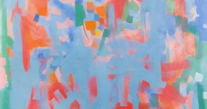 美国抽象画家卡尔·罗伯特·霍蒂绘画作品赏析