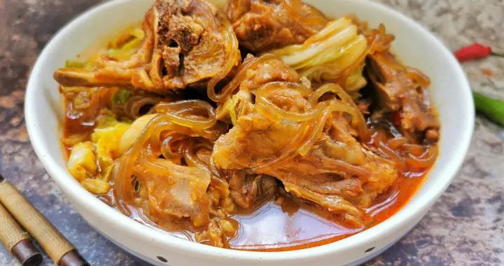 天气转凉吃猪肉不如吃羊蝎子,10块钱一斤,用来炖大锅菜特解馋