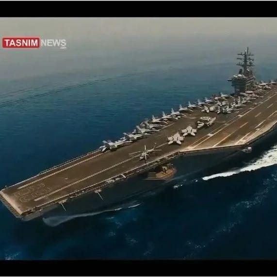 突破了!伊朗国产无人机近距离锁定美军航母,美第五舰队拒绝评论